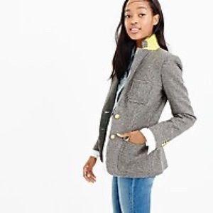 J. Crew 100% Wool Tweed Blazer Size 14T